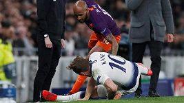 Sestřih utkání Ligy mistrů: Tottenham - Manchester City