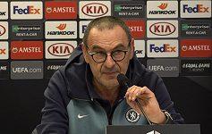 Slavia bude nebezpečný soupeř, nečeká nás nic snadného, varuje trenér Chelsea Maurizio Sarri