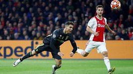 Sestřih utkání Ligy mistrů: Ajax - Juventus Turín (náhled Ronaldo)