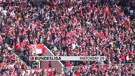 Sestřih utkání 29. kola Bundesligy Düsseldorf - Bayern