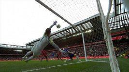 Sestřih utkání 34. kola Premier League Liverpool - Chelsea
