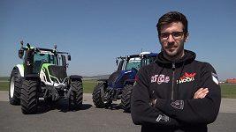Martin Macík přesedlal na traktor