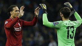 Sestřih čtvrtfinálového utkání Ligy mistrů Porto - Liverpool