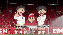 Sestřih utkání 30. kola fotbalové bundesligy Freiburg - Dortmund