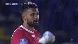 Obrovská chyba gólmana v nizozemské Eredivisie