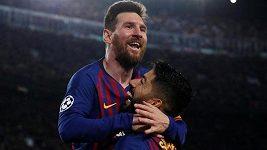 Sestřih semifinále Ligy mistrů Barcelona - Liverpool