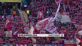 Sestřih utkání 32. kola německé fotbalové bundesligy: Mohuč - Lipsko