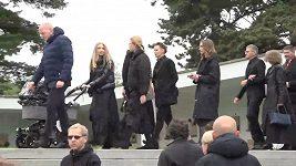 Pohřeb Josefa Šurala v Brně. Fotbalista zemřel v pondělí v Turecku při automobilové nehodě.