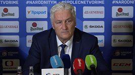 Hráčům bylo těžké říct ne. Miloš Říha vysvětluje, proč na MS nebere Zaťoviče a další hráče.