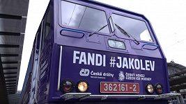 Kudy pojede vlak s českou hokejovou reprezentací?