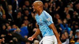 Sestřih utkání 37. kola Premier League Manchester City - Leicester