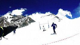 Rugby na sněhu v rekordní nadmořské výšce