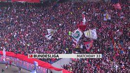 Sestřih utkání 33. kola německé fotbalové bundesligy: Lipsko - Bayern