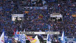 Sestřih utkání 33. kola německé fotbalové bundesligy: Hoffenheim - Brémy