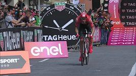 Slovinec Roglič vyhrál časovku na úvod cyklistického závodu Giro d´Italia