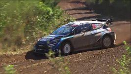 Estonec Tänak vyhrál Chilskou rallye