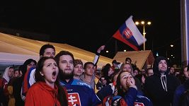Nejprve velká euforie, nakonec obrovský smutek zavládl v bratislavské fanzóně