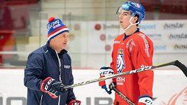 Český tým musí po utkání s Ruskem zapracovat na vhazování a přesilovkách