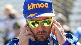 Alonsova havárie při tréninku v Indianapolis