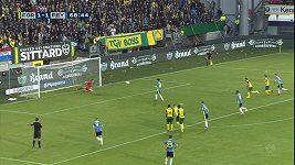 Nizozemský fotbalista napodoboval Panenkovu penaltu a selhal.