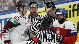 Čeští hokejisté otočili zápas s Lotyšskem a udělali důležitý krok k postupu do čtvrtfinále