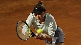 Sestřih osmifinále turnaje v Římě Vondroušová - Kasatkinová