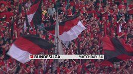 Sestřih utkání 34. kola Bundesligy Hertha Berlín - Leverkusen