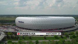 Sestřih utkání 34. kola Bundesligy Bayern Mnichov - Eintracht Frankfurt