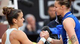 Semifinále turnaje v Římě: Plíšková - Sakkariová