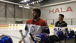 Čeští hokejisté nastoupí proti Rakousku v pozměněné sestavě. Kdo bude chytat?