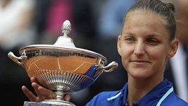 Sestřih finálového utkání v Římě: Karolína Plíšková - Johanna Kontaová