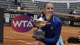 Plíšková vyhrála turnaj v Římě: Je to trochu jako zázrak