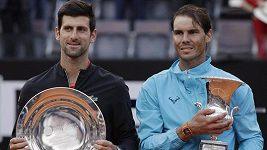 Sestřih finálového utkání turnaje v Římě: Nadal - Djokovič