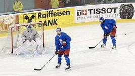 Češi varují před švýcarskou zarputilostí, Švýcaři zase před tvrdostí obránce Radko Gudase