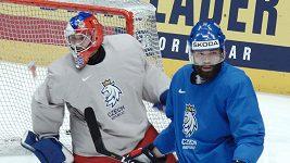 Čeští hokejisté mají za sebou rozbruslení a těší se na Kanadu. Sestavu trenéři opět tají