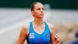 Sestřih zápasu Plíšková - Brengleová na Roland Garros.