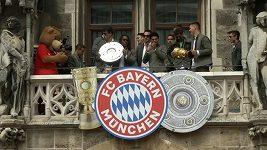 Bayern Mnichov získal double. Dvě legendy se loučily
