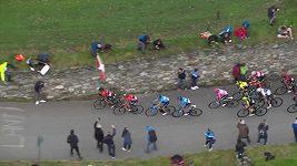 Český cyklista Hirt skončil druhý v 16. etapě Giro d´Italia