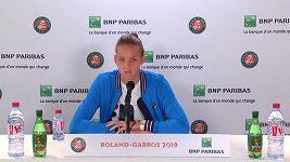 Karolína Plíšková komentuje svůj postup do 3. kola French Open