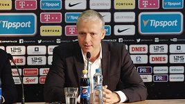 Představení nového trenéra fotbalové Sparty