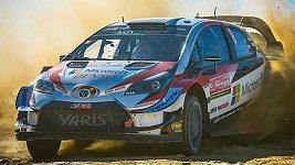Estonský pilot Ott Tänak vyhrál první etapu Portugalské rallye