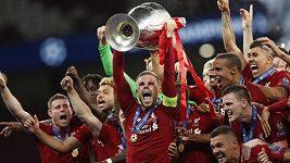 Finále Ligy mistrů vyhráli fotbalisté Liverpoolu.