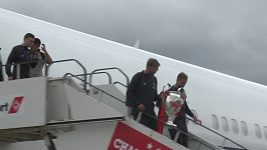 Fotbalisté Liverpoolu jsou doma s trofejí pro vítěze Ligy mistrů