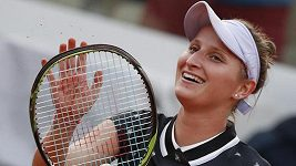 Markéta Vondroušová hodnotí vítězné čtvrtfinále French Open