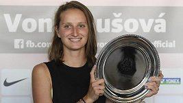 Markéta Vondroušová zatím svůj úspěch na Roland Garros nestihla oslavit