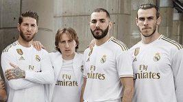 Nové dresy Realu Madrid