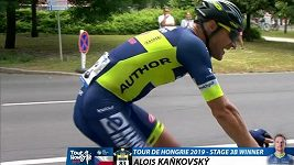 Český cyklista Alois Kaňkovský vyhrál v pátek etapu závodu Kolem Maďarska