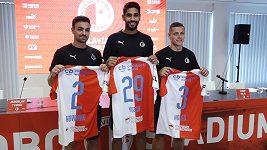 Fotbalová Slavia představila posily pro novou sezonu