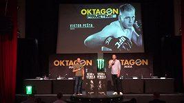 Další skvělý zápasník podepsal smlouvu. S organizací OKTAGON MMA se dohodl i Viktor Pešta.