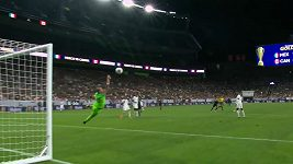 Parádní gól Mexičanů na mistrovství Severní a Střední Ameriky